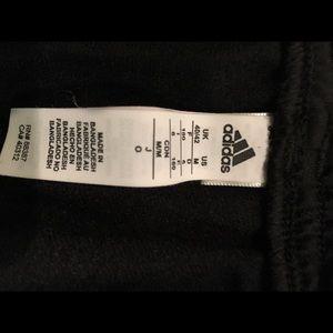 Adidas straight leg athletic pants Medium
